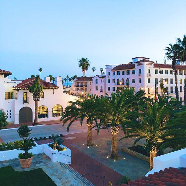 a weekend guide to downtown santa barbara honeymoon travel rh pinterest com