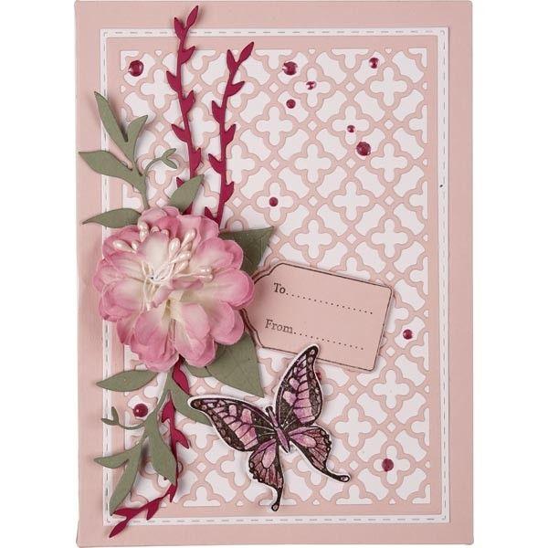 Good Card Making Magic Ideas Part - 12: Card Making Magic The Christina Collection - Layered Florals Die Set -  CraftStash