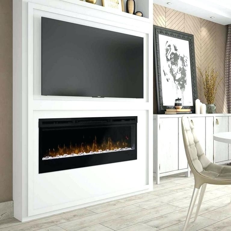 50 Inch Fireplace Tv Stand Synergy Vs Prism Linear Electric