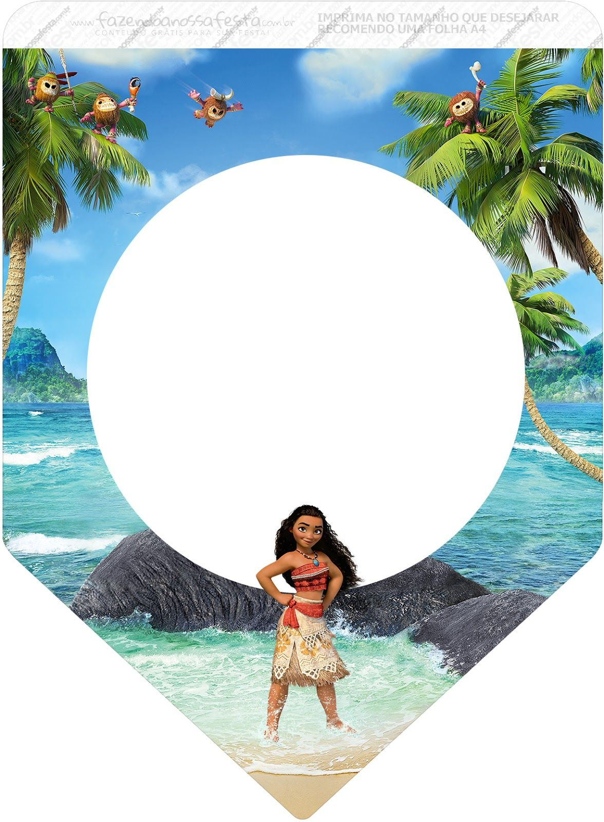 Moana Free Party Printables Moana Free Party