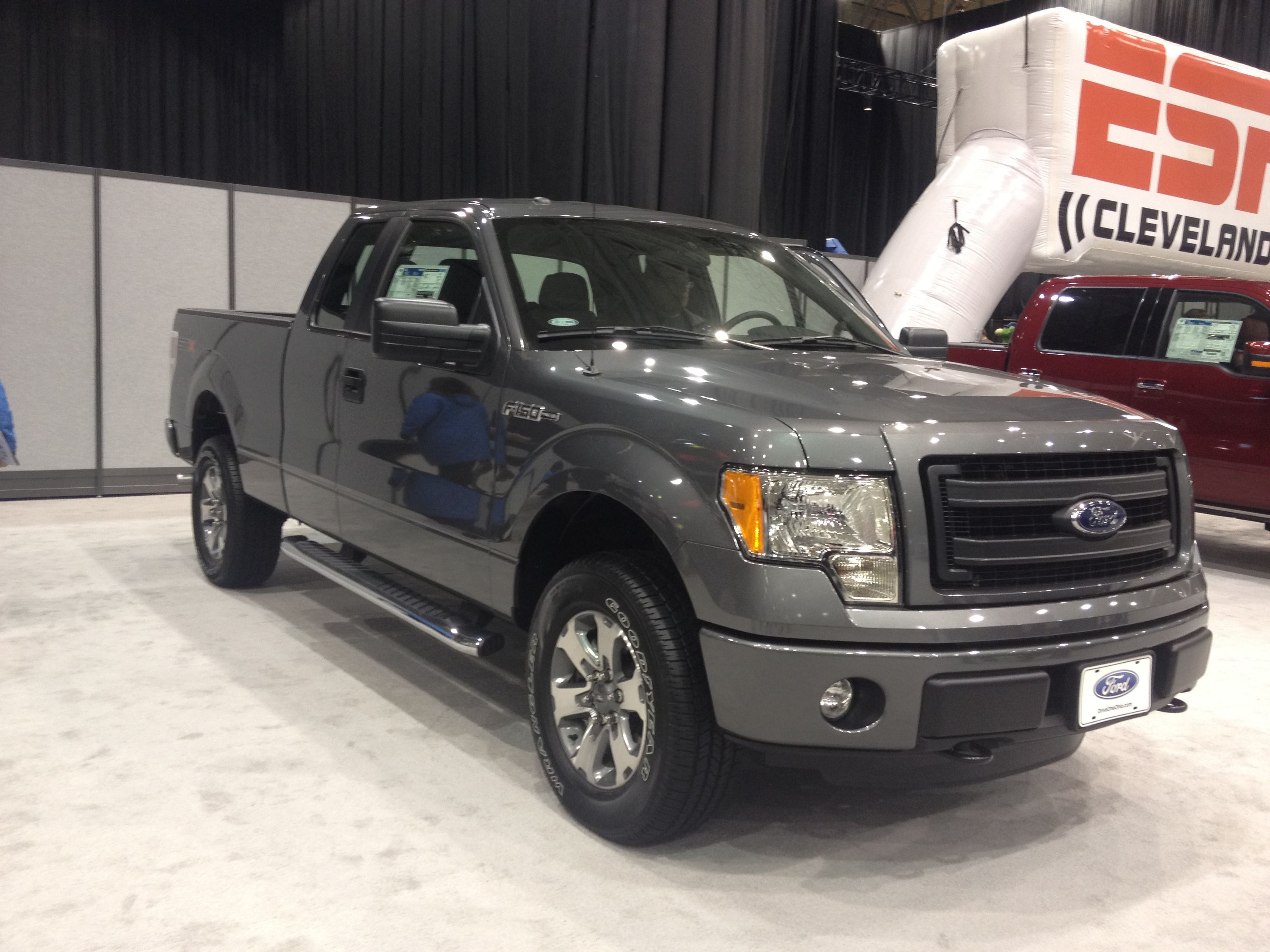 2013 ford f 150 supercab in sterling gray metallic 2013 cleveland rh pinterest com