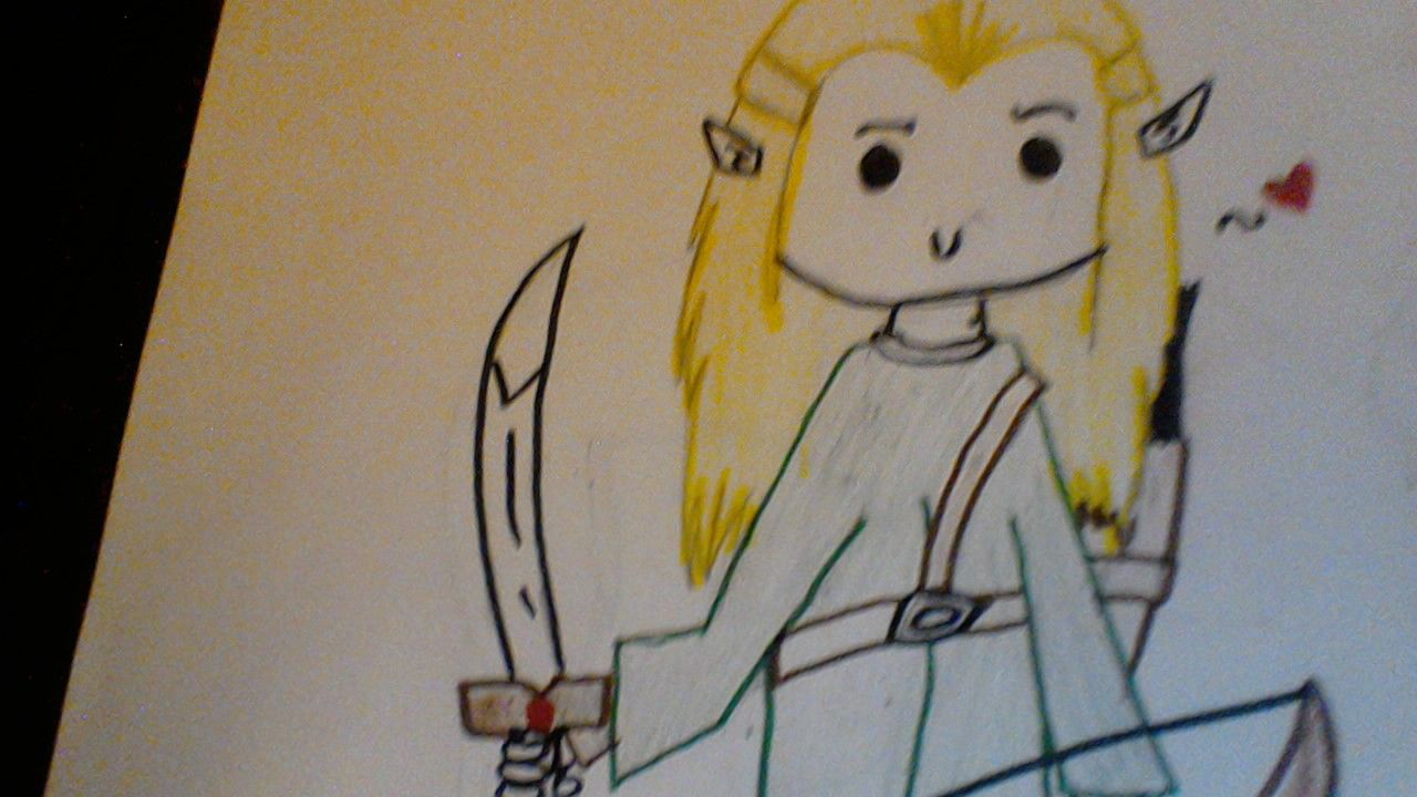'Legolas' by @OfficialASPEN. I drew this a long time ago. Do not repin unless I have full credit.