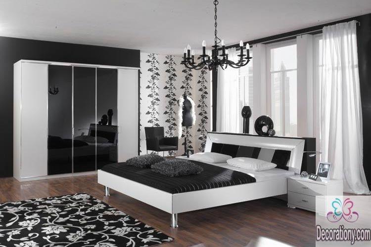 Schwarz Und Weiß Schlafzimmer Schwarz Und Weiß