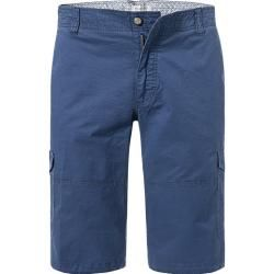 Photo of bugatti men's trousers cargo shorts, cotton, cobalt blue BugattiBugatti