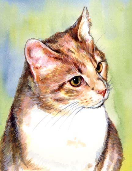 Watercolor by Carol Ann Wells ♥•♥•♥Gorgeous♥•♥•♥