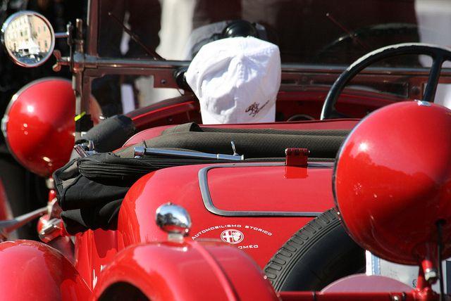 Alfa Romeo al Gran Premio Nuvolari 2012 by Alfa Romeo - The official Flickr, via Flickr