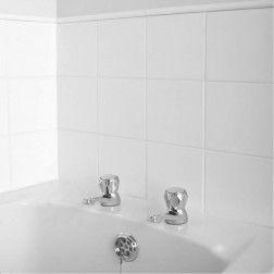 San Lorenzo White 150mm X 150mm White Wall Tiles Wall Tiles