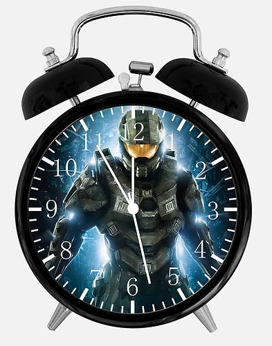 "Decorative Bedroom Alarm Clocks: New Halo Alarm Clock 3 75"" Room Decor B3 Fast Shipping"