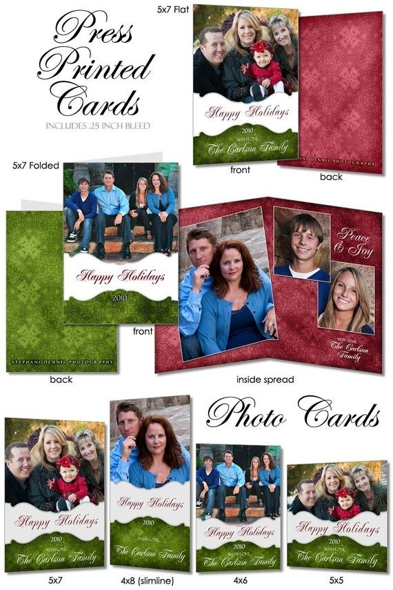 CHRISTMAS Card Design  VOLUME 5  Digital Photoshop by ashedesign, $24.99