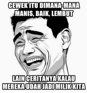 Gambar Meme Lucu Gokil Terbaru Bikin Ketawa Ngakak Png Memes Funny Overly Attached Girlfriend