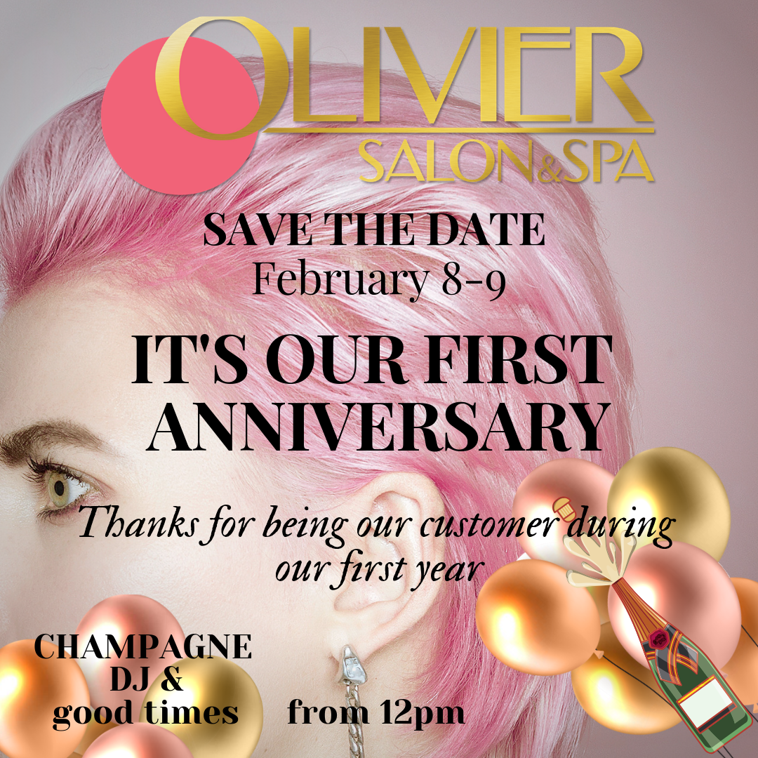 One year ! Save the date for our first Anniversary Party at