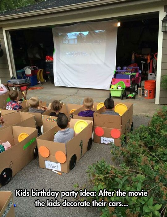 kids drive in movie baby j pinterest party birthday and