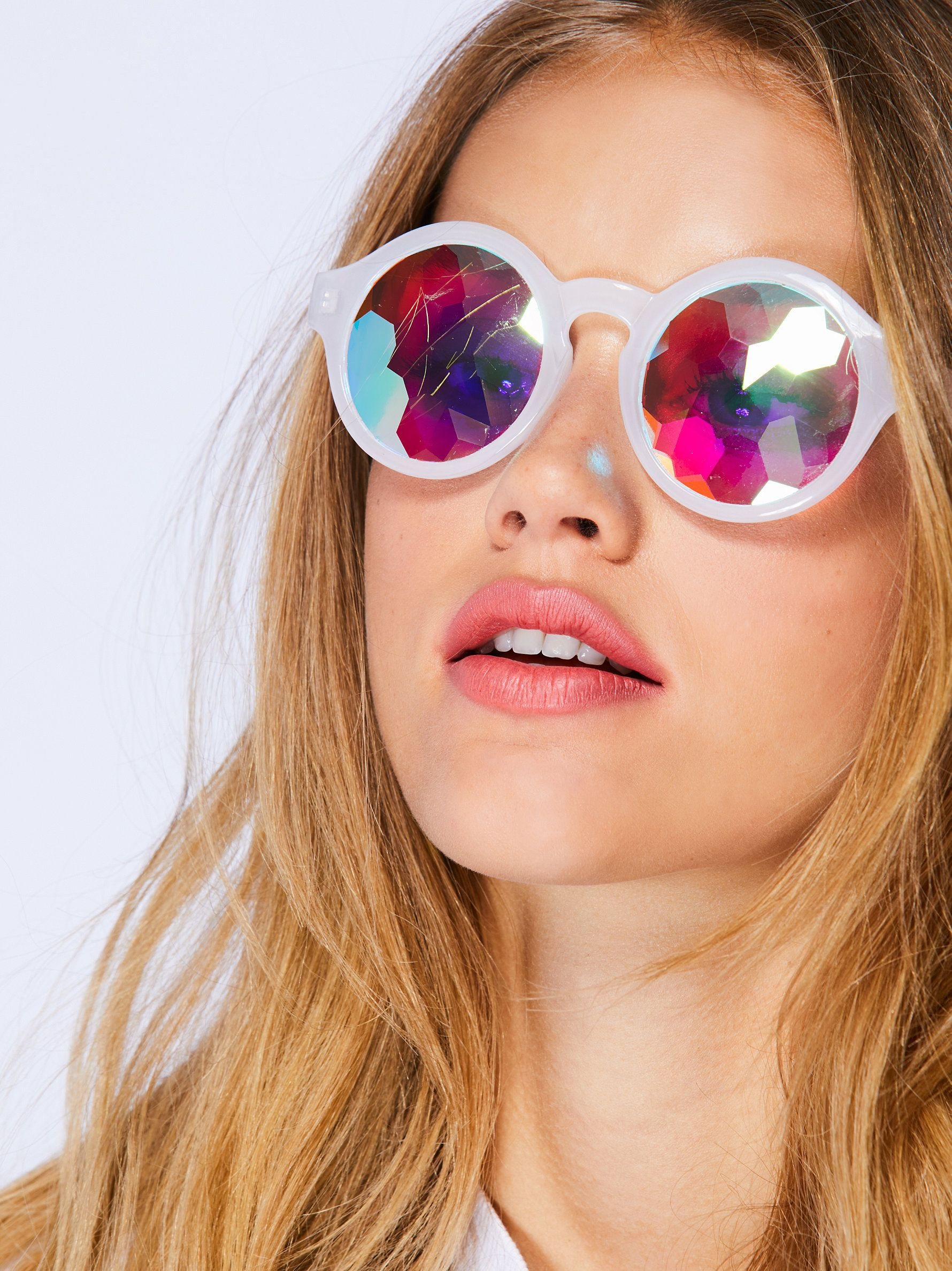 Fun kaleidoscope sunglasses