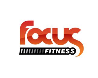 Focus Fitness By Garethrowson Gym Logo Tech Company Logos Logo Inspiration