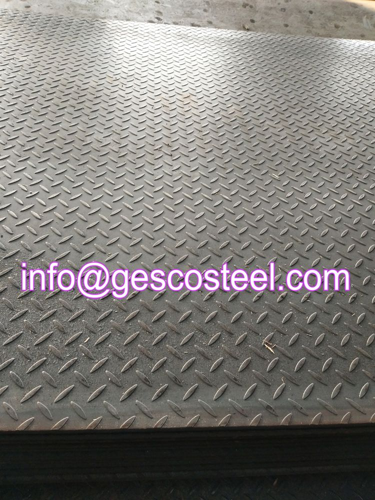 Checkered Steel Plate Let S Talk About More Details By Email Info Gescosteel Com