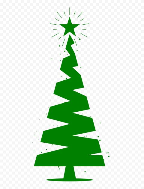 Hd Flat Green Vector Christmas Tree Icon Silhouette Png Tree Icon Christmas Vectors Silhouette Png