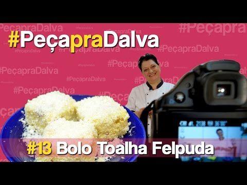 #PeçapraDalva #13 - Bolo Toalha Felpuda - Sollnikybr Barbosa - YouTube