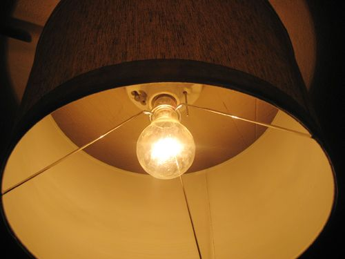 Basement Lighting Fixtures: Basement Update: Hanging Our Bikes And Adding A Shade