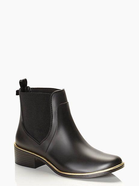Kate Spade - Sedgewick Rain Boots In Black  Starting In -7077