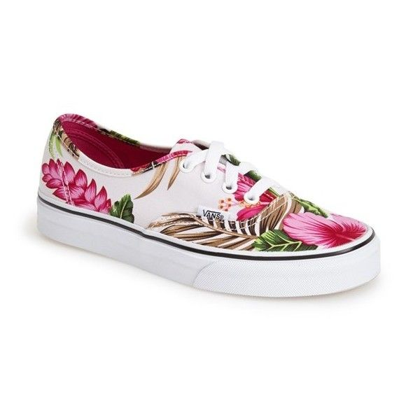 4b61ace6c0 Vans  Authentic - Hawaiian  Canvas Sneaker (2