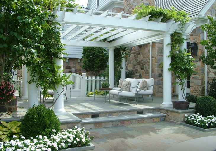 Love White Pergola Patio White Pergola Pergola