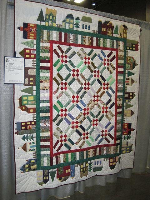 2010 Austin Area Quilt Guild Show Quilts House Quilt