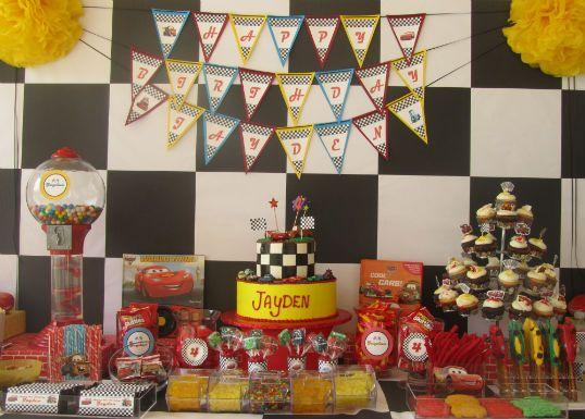 cars theme candy bar party like a kid cars cars birthday parties rh pinterest com