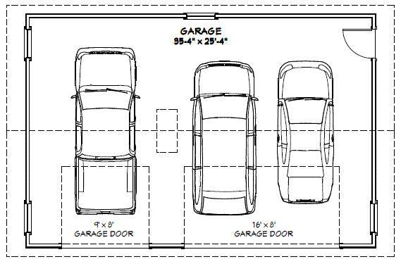 3 Car Garage Size Svtperformance Com Car Garage Garage Dimensions Three Car Garage Plans