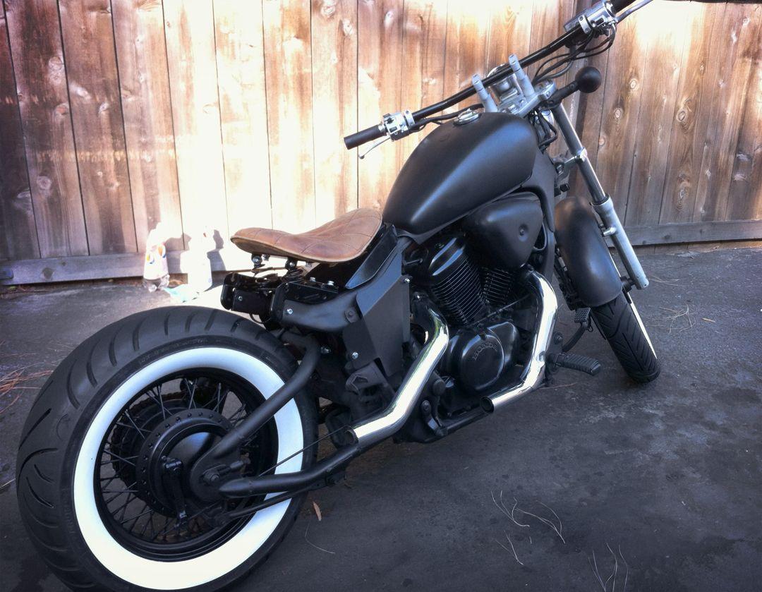 1000 Ideas About Honda Shadow Bobber On Pinterest
