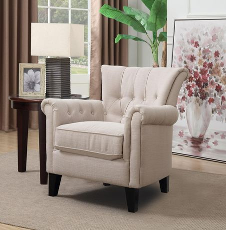 Topline Home Furnishings Beige Accent Chair Beige Restaurant