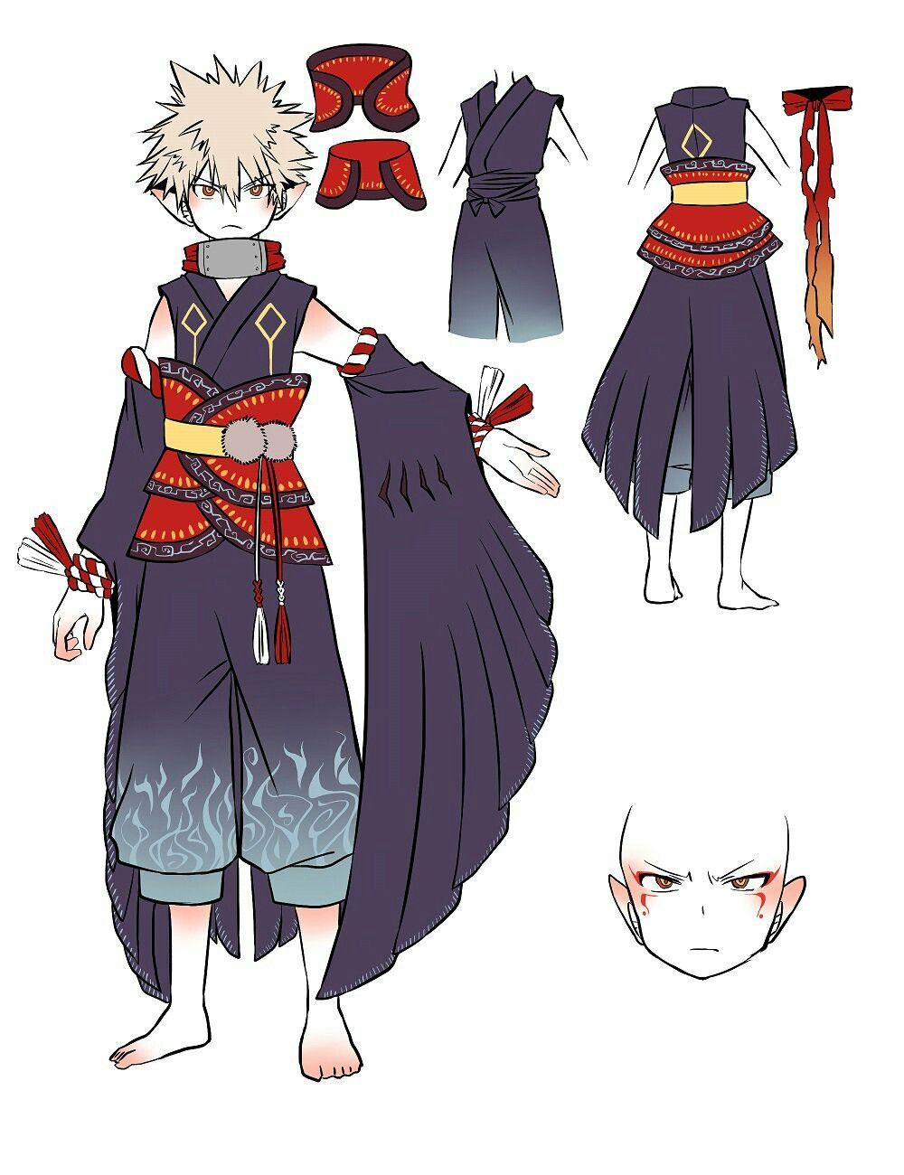 Katchann Anime Guys Character Design Hero
