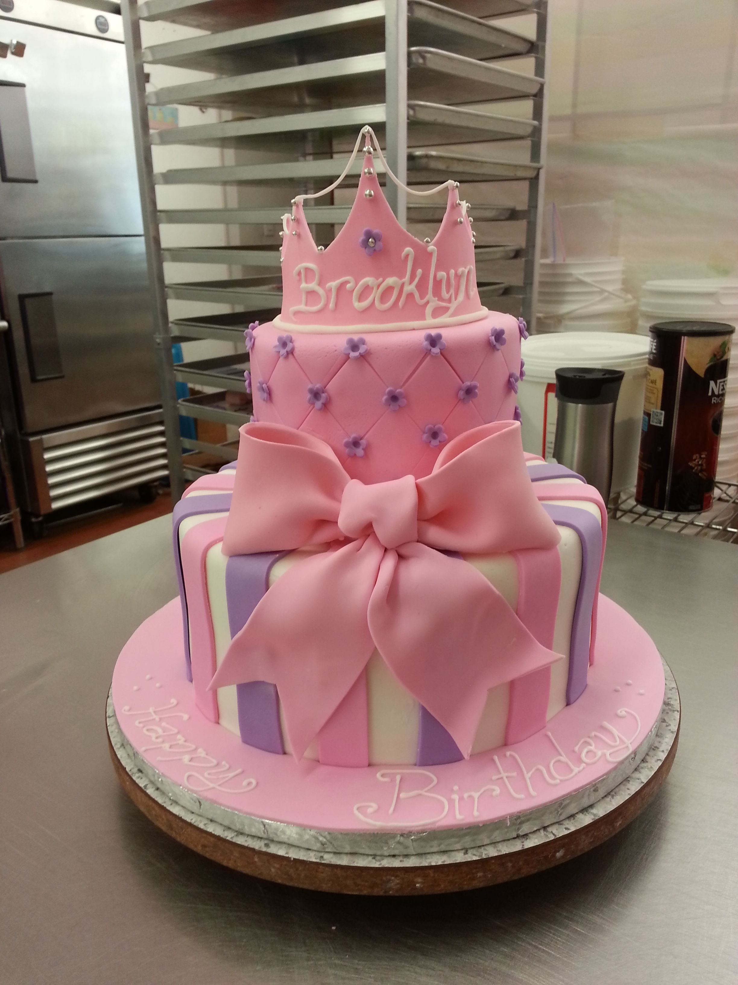 Cool Our Big Bow Princess Cake Is Perfect For A Party Adorable And Personalised Birthday Cards Epsylily Jamesorg