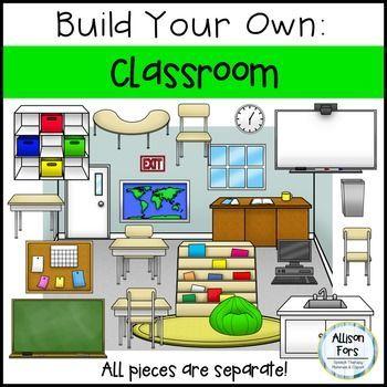 build your own classroom clip art allison fors educational clipart rh pinterest com