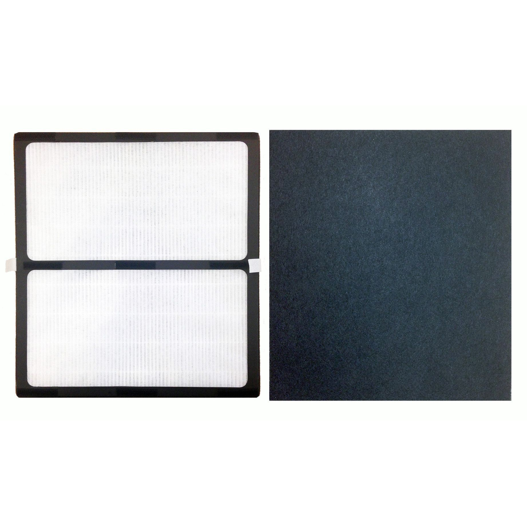 Replacement HEPA Style D Filter & Carbon Filter Kit, Fits