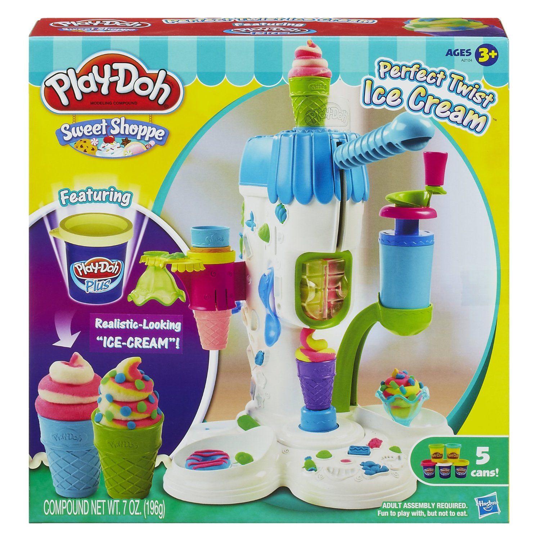 Amazon Play Doh Perfect Twist Ice Cream Playset Toys & Games