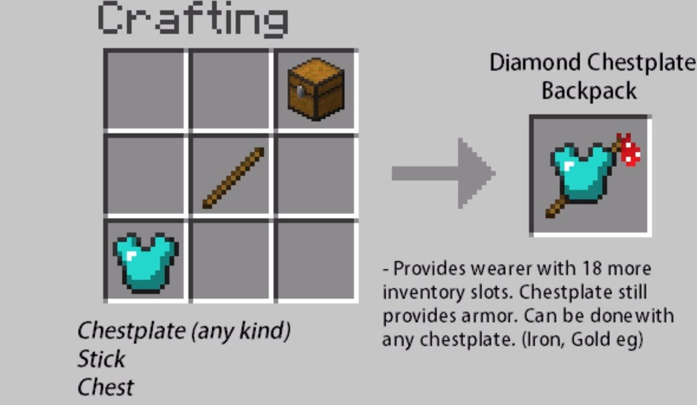 Minecraft Crafting Ideas 1 | Awesome minecraft stuff ... - photo#22
