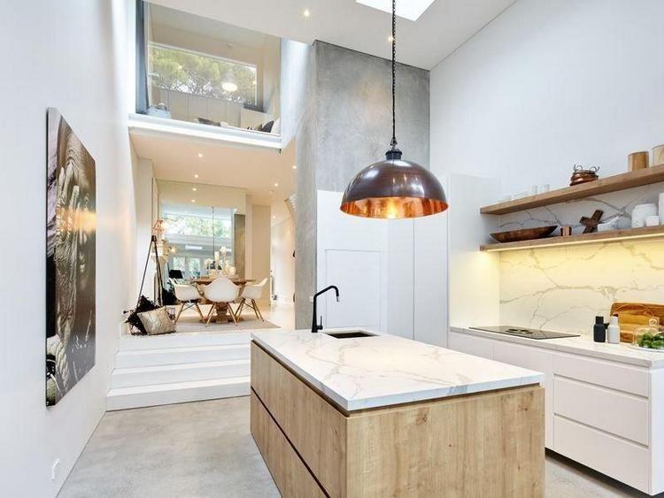 La d co nordique d une petite maison d co scandinave la for Cuisine ouverte nordique