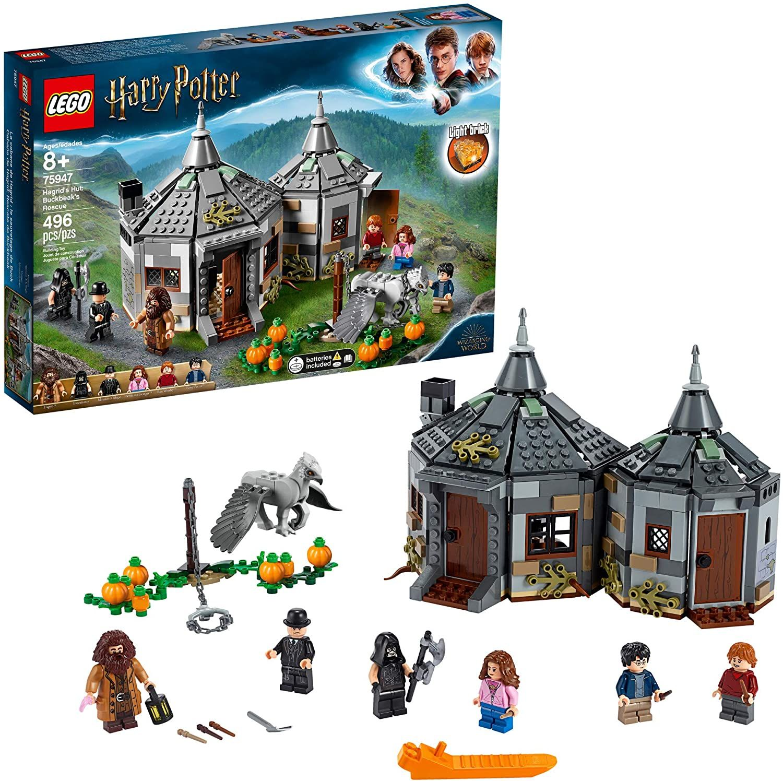 Lego Harry Potter Hagrid S Hut Harry Potter Lego Sets Harry Potter Set Hagrids Hut