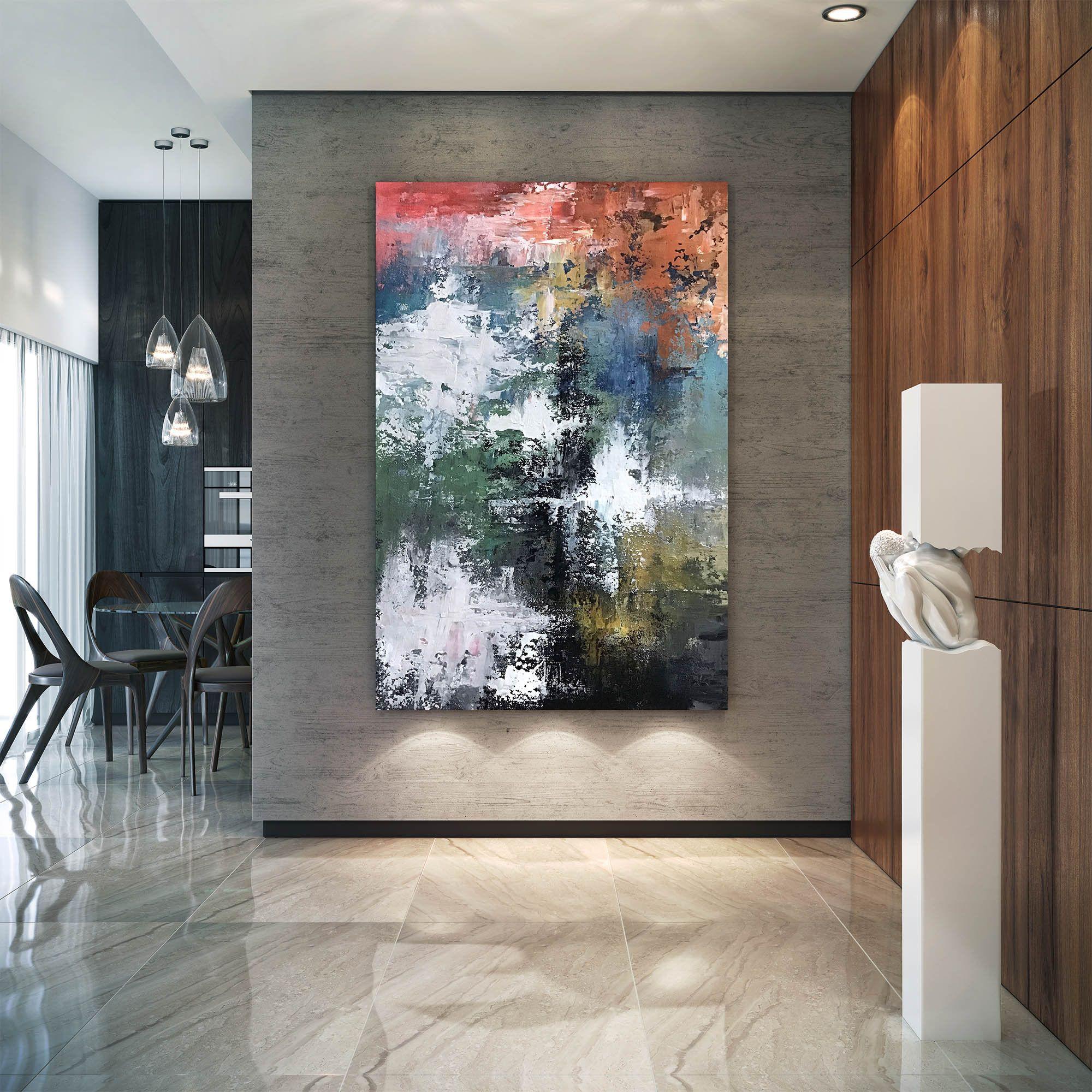 Large Modern Wall Art Paintingmaster Bedroom Decorpainting Etsy Large Abstract Wall Art Large Modern Wall Art Extra Large Wall Art