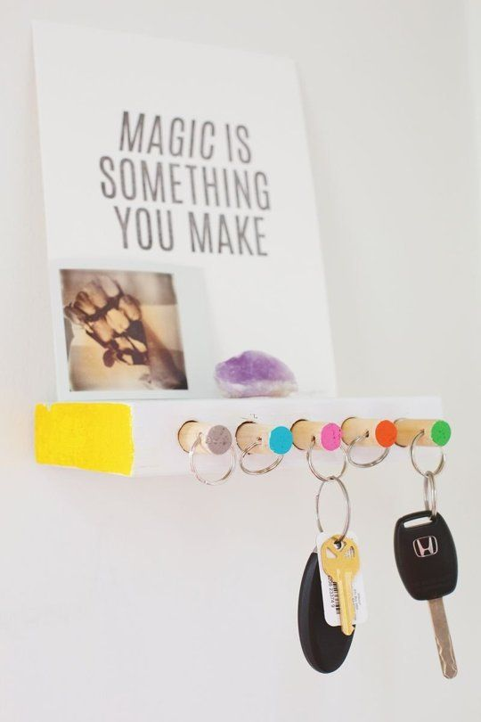 Bli organiserad: 10 DIY Nyckelpersoner