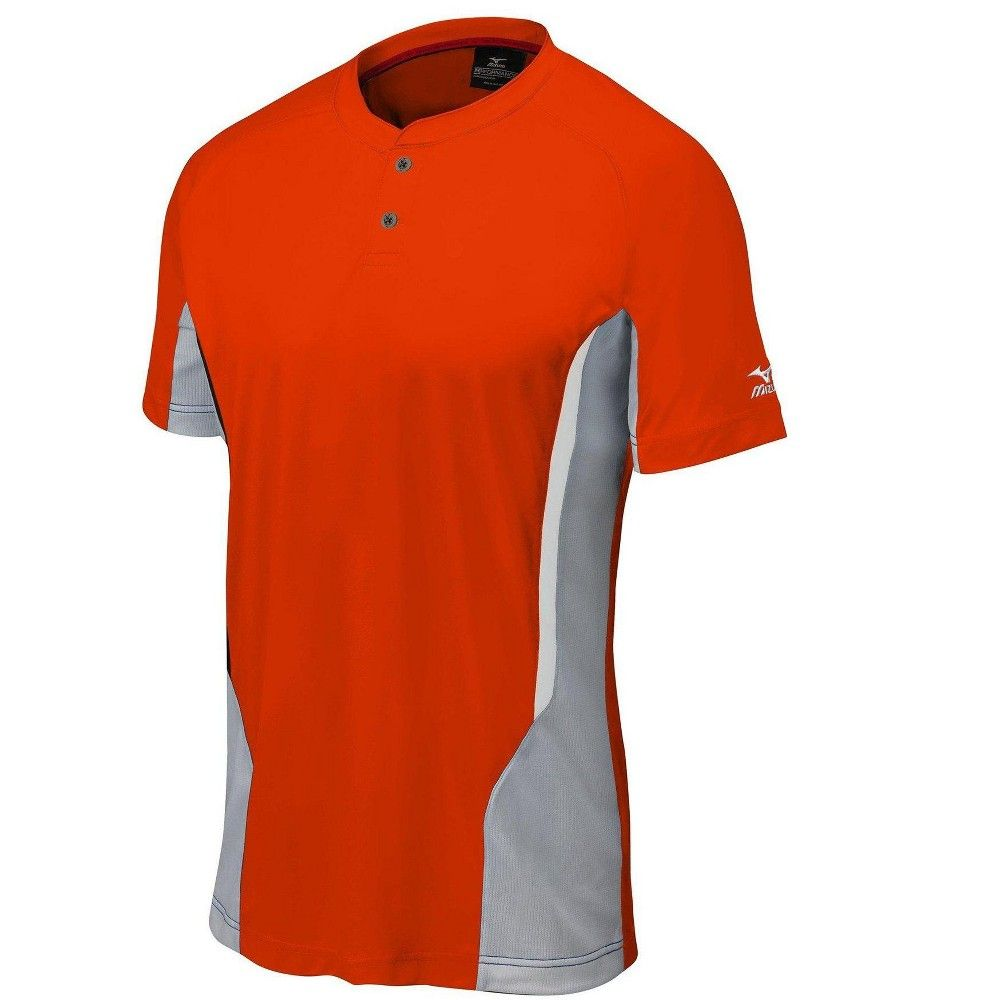 Mizuno Men S Elite 2 Button Baseball Jersey Mens Size Small In Color Orange Grey 2091 Products Youth Baseball Jerseys Baseball Jerseys Sports Uniforms