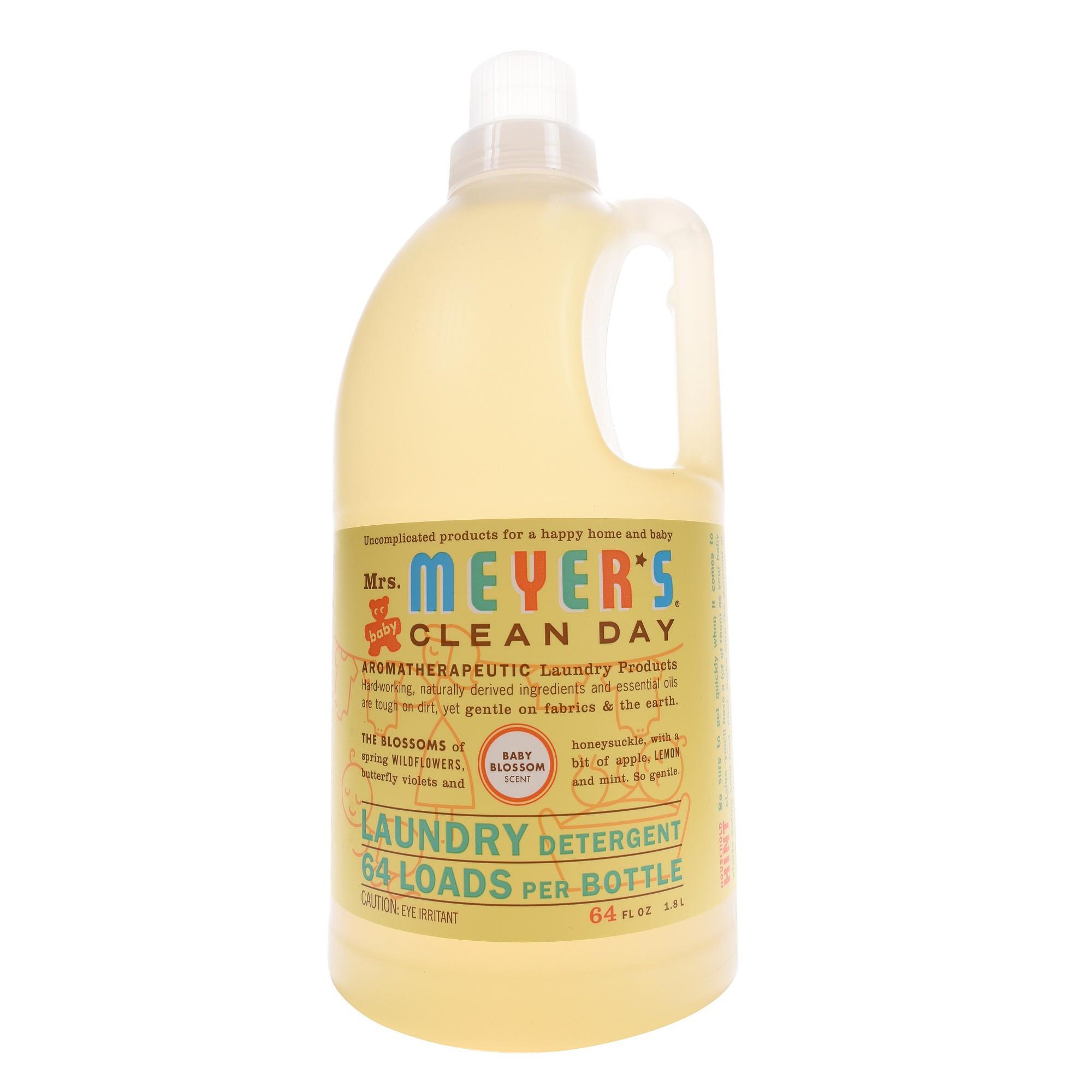 Mrs Meyer S Laundry Detergent 2x Baby Blossom 64 Floz Laundry Detergent Best Baby Detergent Liquid Laundry Detergent