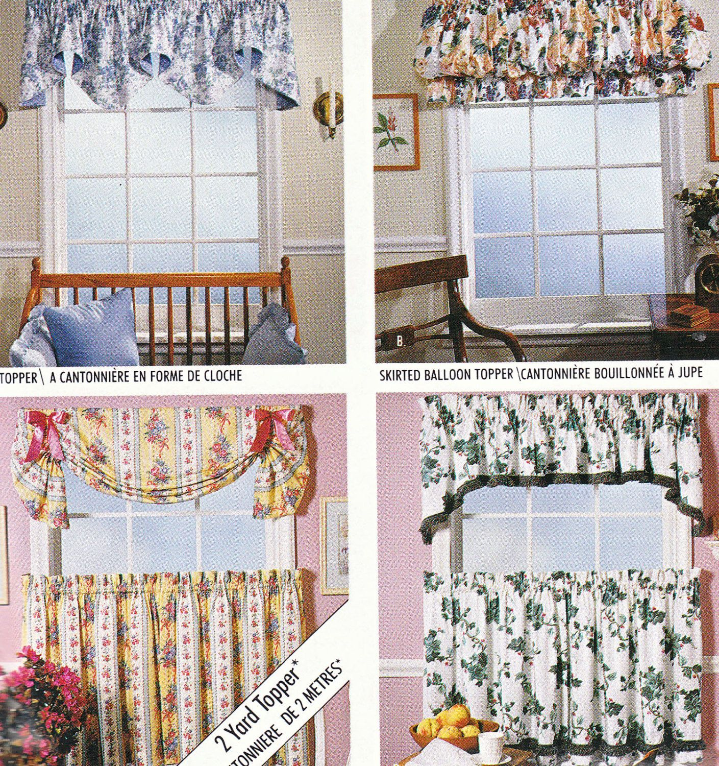 Free Sewing Pattern Curtain Vintage Curtains Sewing Pattern Mccalls 733 By Claudettesvintage Curtain Sewing Pattern Mccalls Sewing Patterns Curtain Patterns