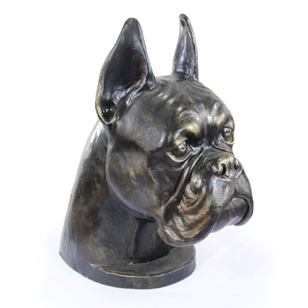Boxer Cropped Memorial Urn For Dog S Ashes Pet Cremation Urn