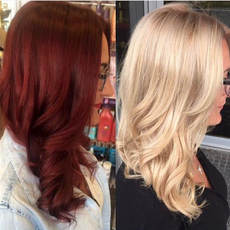Red to blonde with olaplex by xcentrichair olaplex red to blonde with olaplex by xcentrichair urmus Images