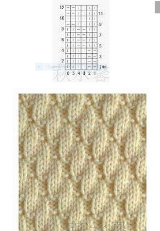 Схемы для вязания на спицах 52