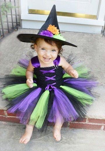 Las Imagenes De Disfraz De Bruja Para Niña Que Necesitas Disfraz Bruja Niña Disfraz De Bruja Disfraces Halloween Bebes
