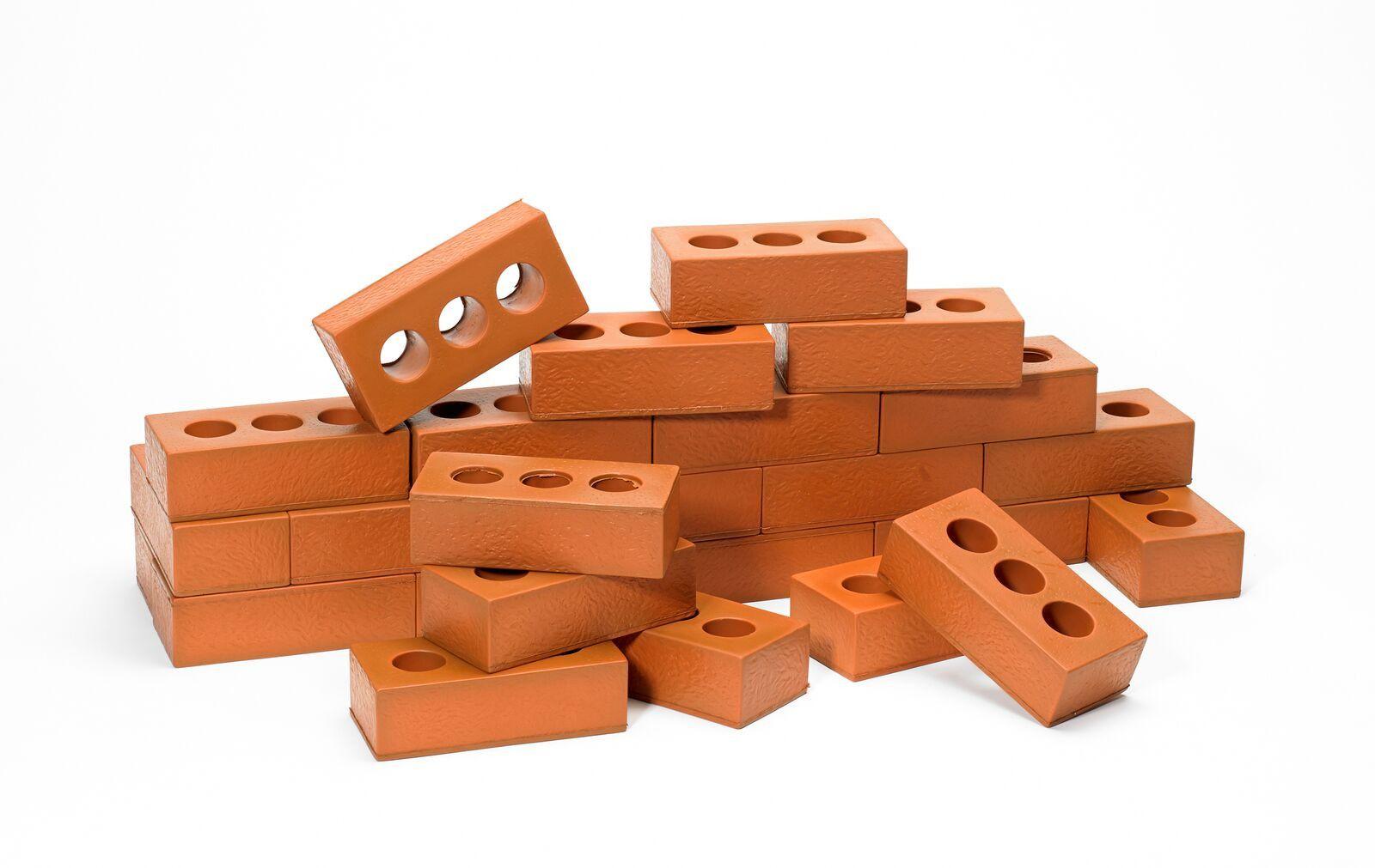 Soft Pretend House Bricks From Spectrum Educational Ltd