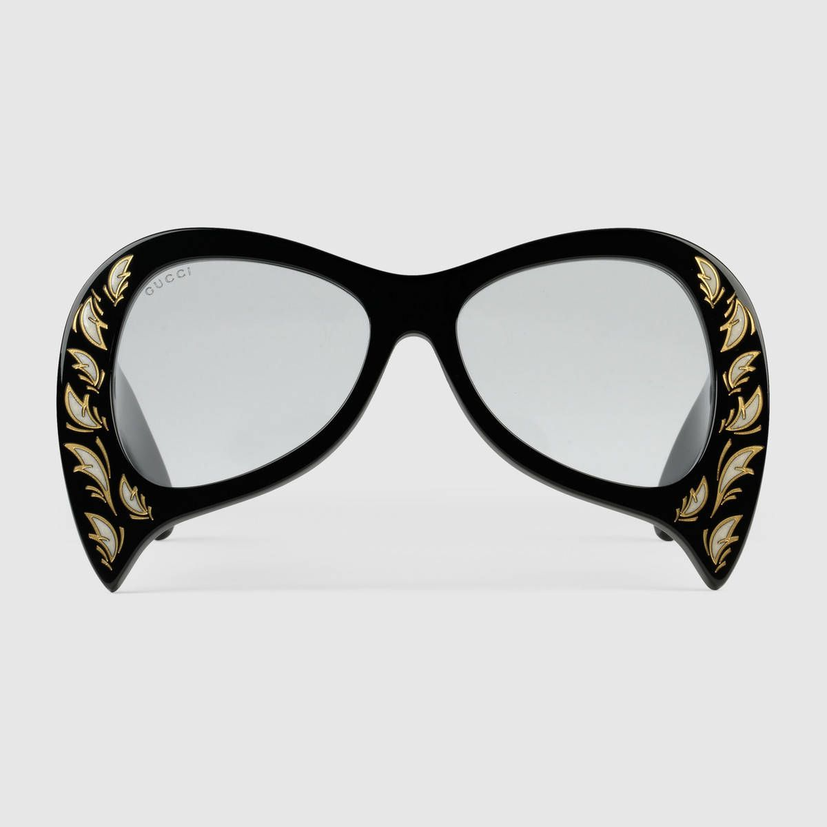 811b7a8d0f Oversize sunglasses with mother of pearl details