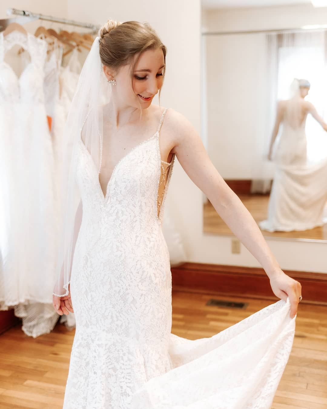 Wedding Shoppe Inc Instagram In 2020 Wedding Dresses Lace Long Sleeve Wedding Dress Lace Fit And Flare Wedding Dress